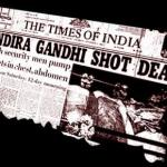 indira gandhi shot dead Times of India newspaper print.jpg
