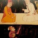 Guru Nanak with Sant Kabir