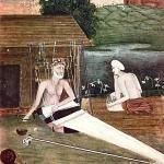 saint kabir - weaving khadi cloth