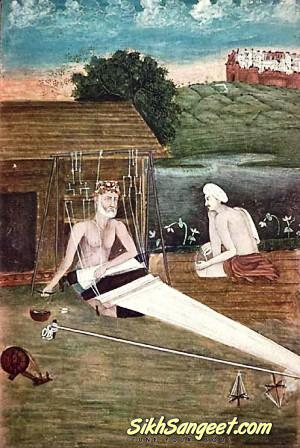 saint kabir - weaving khadi cloth