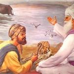 BabaBudhaJi conversing a herder