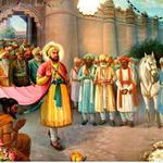 Guru Hargobind Ji & 52 Kings coming from Gwalior Fort