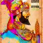 Guru Hargobind Ji and 52 Kings (by Inkquisitive Illustration)