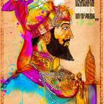 Guru Hargobind Ji and 52 Kings (by Inkquisitive Illustration)