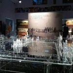 Glass made darbaar sahib