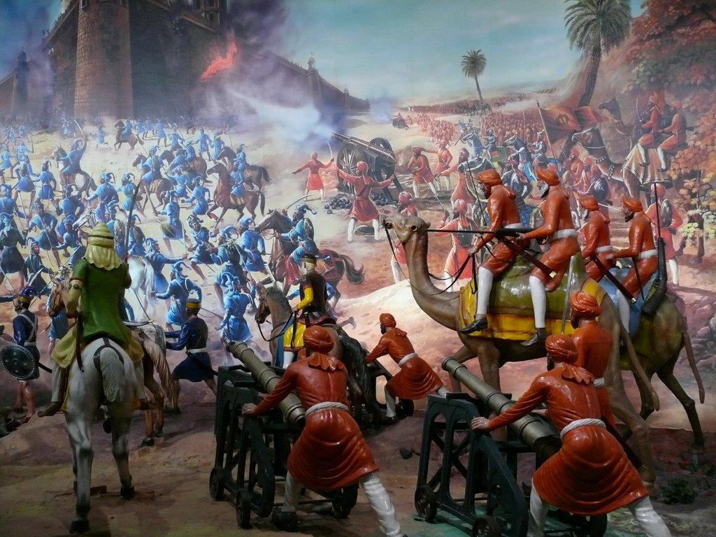 Amritsar - Battle at Ranjit Singh Panorama.jpg