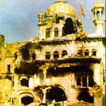 Akal - Takht - In 1984