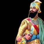Guru gobind singh and his son
