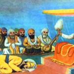 Guru gobind singh ji matha tekdey hoey