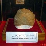Turban of guru gobind singh Ji