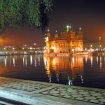 amritsar at night
