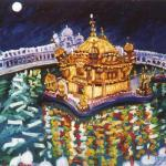 drawing Golden Temple