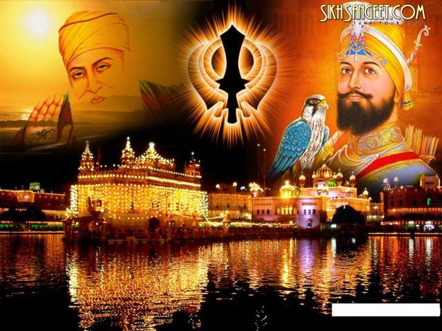 golden temple and guru guru nanak dev ji and guru guru gobind singh ji