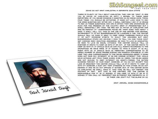 Hisory - Of - Sant - Jarnail - Singh - Ji - Khalsa - Bhindranwale