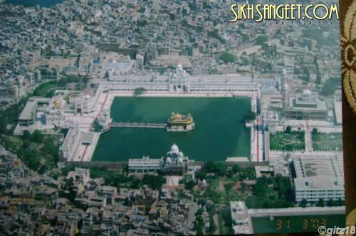 Golden Temple a scenic view