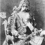 Maharaja Raghbir Singh, the cultured ruler of the princely state of Jind, (1864-1887) (1875)