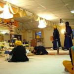 Guru Granth Sahib Bow Bowing To The Lord In Shabad