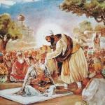 normal_Guru Angad blessing Amardas ji with saropa_jpg.jpg