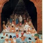 Baoli is a staircase leading to water and was contructed by Guru Amar Das Ji