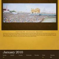 Sikh Foundation Calendar 2010  preview 1 January
