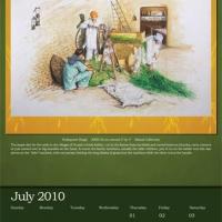 Sikh Foundation Calendar 2010  preview 7 July