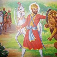 guru hargobind maharaj lion.jpg
