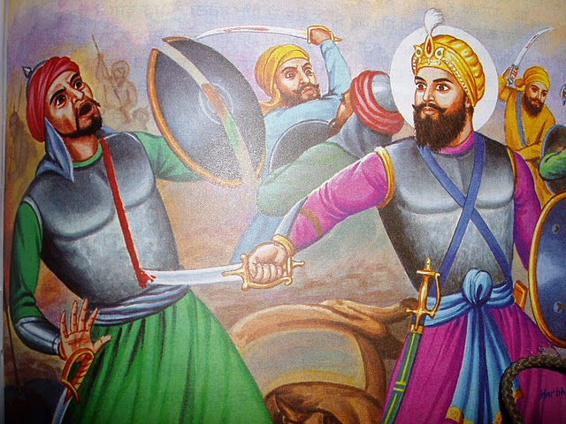 guru hargobind warrior soldier war.jpg