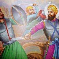 guru hargobind warrior soldier war.jpg