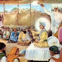 normal_Guru Harkrishan Saheb discoursing on the Holy Word in.jpg
