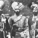 Sikh officers of the 15th Sikh Infantry, 23rd Punjab Pioneers and 38th Dogras attending the Coronation of King Edward VII 1902