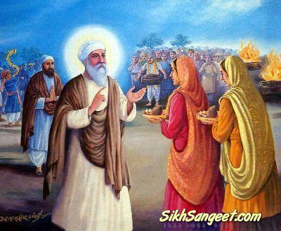 Guru Amardas ji conferred equal status on men & women