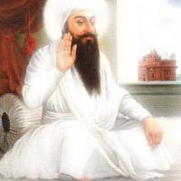 Guru Arjan at peace (Bright)