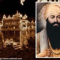 Harmandar Sahib (with Guru Arjan Dev ji inset)