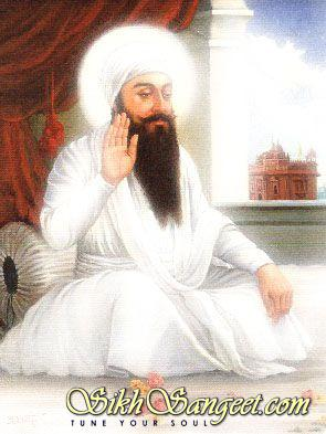 Guru Arjan at peace (Bright)