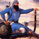 Banda - Singh - Bahadur  with swored