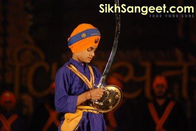 kid Sikh Martial Arts