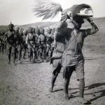 Sikh Soldiers carrying Guru Granth Sahib ji during World War